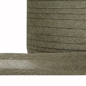 Косая бейка хлопок TBY арт.CB15 шир.15мм цв.F327 оливковый уп.132 м
