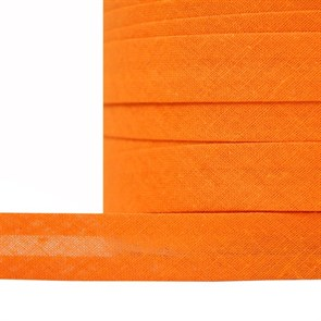 Косая бейка хлопок TBY арт.CB15 шир.15мм цв.F158 оранжевый уп.132 м