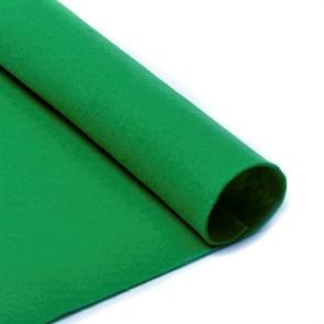 Фетр в рулоне мягкий IDEAL 1мм 100см арт.FLT-S2 цв.705 зеленый (отрез 1 метр)