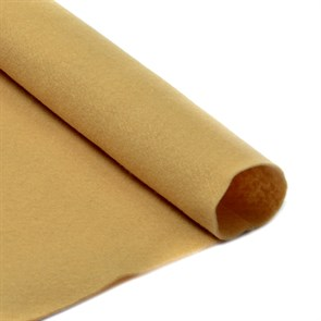 Фетр в рулоне мягкий IDEAL 1мм 100см арт.FLT-S2 цв.641 св.бежевый (отрез 1 метр)