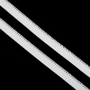 Резинка TBY бельевая 10мм арт.RB03101 цв.F101 белый уп.100м