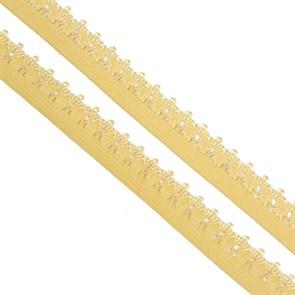 Резинка TBY бельевая 12мм арт.RB01291 цв.F291 (17) бежевый уп.10м
