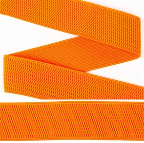 Резинка TBY помочная Ультра арт.RD.40157 шир.40мм цв.157 оранжевый рул.25м