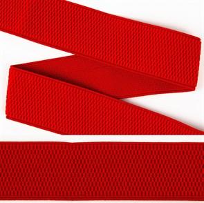 Резинка TBY помочная Ультра арт.RD.40162 шир.40мм цв.162 красный рул.25м