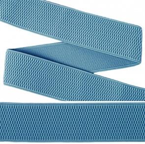 Резинка TBY помочная Ультра арт.RD.40331 шир.40мм цв.331 голубой рул.25м