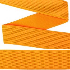 Резинка TBY помочная Ультра арт.RD.40336 шир.40мм цв.336 флуор.оранжевый рул.25м