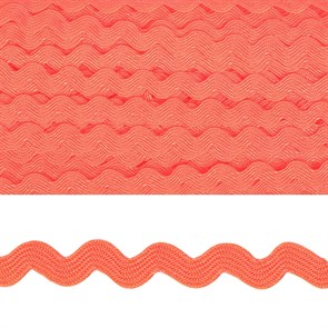 """Тесьма декоративная """"Вьюнчик"""" арт.TBY.64312 шир.5мм цв.F136 грязно-розовый уп.32,92м"""