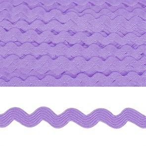 """Тесьма декоративная """"Вьюнчик"""" арт.TBY.64312 шир.5мм цв.F192 фиолетовый уп.32,92м"""