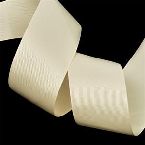 Лента Ideal репсовая в рубчик шир.50мм цв. 815 (008) кремовый уп.27,42м