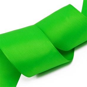 Лента Ideal репсовая в рубчик шир.50мм цв. 579 (120) ярк.зеленый уп.27,42м
