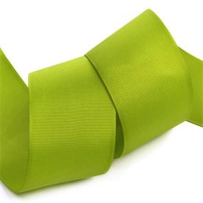 Лента Ideal репсовая в рубчик шир.50мм цв. 548 (146) оливковый уп. 27,42м
