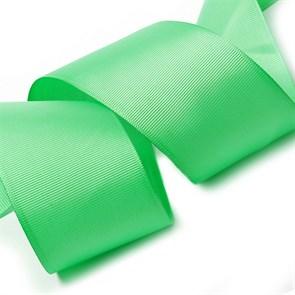 Лента Ideal репсовая в рубчик шир.50мм цв. 530 (114) пастел.мятный уп.27,42м