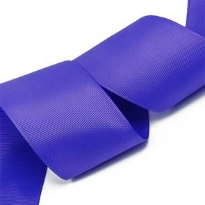 Лента Ideal репсовая в рубчик шир.50мм цв. 470 холод.фиолетовый уп.27,42м