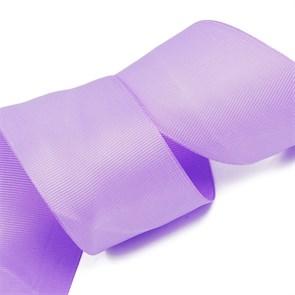 Лента Ideal репсовая в рубчик шир.50мм цв. 462 (080) сиреневый уп.27,42м