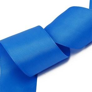 Лента Ideal репсовая в рубчик шир.50мм цв. 366 (170) ярк.синий уп.27,42м