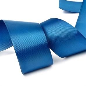 Лента Ideal репсовая в рубчик шир.50мм цв. 365 (174) морской синий уп.27,42м