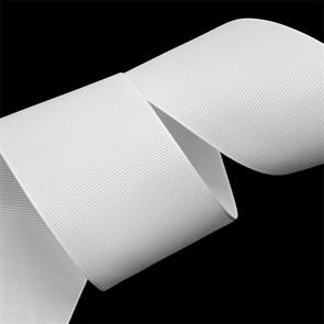 Лента Ideal репсовая в рубчик шир.50мм цв. 029 (001) белый уп.27,42м