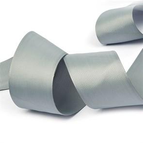 Лента Ideal репсовая в рубчик шир.50мм цв. 012 (096) серый уп.27,42м