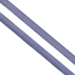 Резинка TBY бельевая (ажурная) 10мм арт.RB03379S цв.S379 т.сиреневый уп.100м