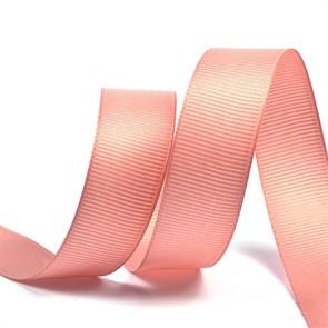 Лента Ideal репсовая в рубчик шир.20мм цв.161 розовый уп.27,42м