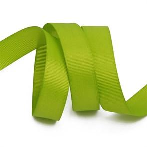 Лента Ideal репсовая в рубчик шир.20мм цв. 548 зеленый киви уп.27,42м