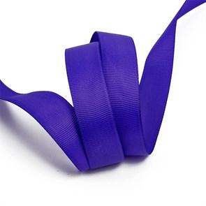 Лента Ideal репсовая в рубчик шир.20мм цв. 470 холод.фиолетовый уп.27,42м