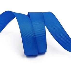 Лента Ideal репсовая в рубчик шир.20мм цв. 366 ярк.синий уп.27,42м