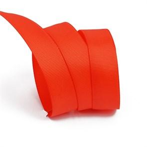 Лента Ideal репсовая в рубчик шир.20мм цв. 235 класс.красный уп.27,42м
