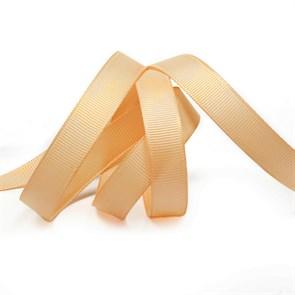 Лента Ideal репсовая в рубчик шир.12мм цв. 826 (013) песочный уп.27,42м