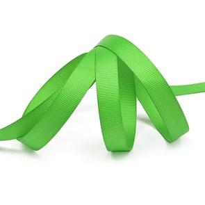 Лента Ideal репсовая в рубчик шир.12мм цв. 579 (120) ярк.зеленый уп.27,42м