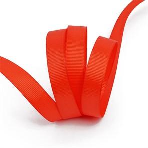 Лента Ideal репсовая в рубчик шир.12мм цв. 235 (057) класс.красный уп.27,42м А