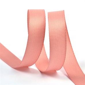 Лента Ideal репсовая в рубчик шир.12мм цв. 161 розовый уп.27,42м