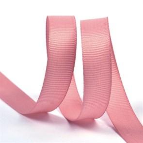 Лента Ideal репсовая в рубчик шир.12мм цв. 158 гряз.розовый уп.27,42м