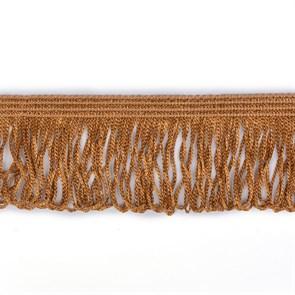 Бахрома арт. 0390-1070 цв.6367 шир. 60мм цв.коричневый уп.10м