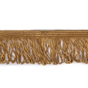 Бахрома арт. 0390-1070 цв.6458 шир. 60мм цв.коричневый уп.10м