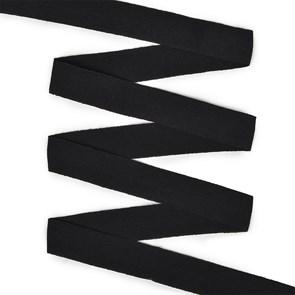 Резинка TBY бельевая (окантовочная матовая) 20мм арт.ROM.20322 цв.F322 черный уп.50 м