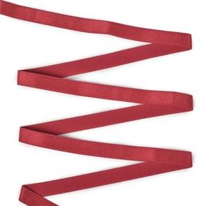 Резинка TBY бельевая (для бретелей) 10мм арт.RBB05059 цв.S059 т.красный уп.25м