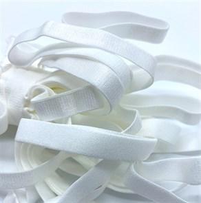 Резинка для бретелей 10мм арт.KRB1010W цв.белый уп.10м