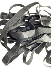 Резинка для бретелей 10мм арт.KRB1050B цв.черный уп.50м