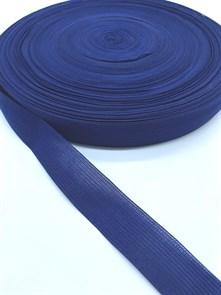 Тесьма вязаная окантовочная, 22мм, арт.4С-516/22 ,цв. 26 т.синий