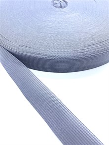 Тесьма вязаная окантовочная, 22мм, арт.4С-516/22 ,цв.149 серый