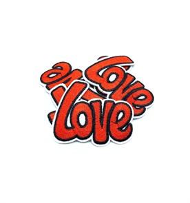 Термоаппликации арт.KT #4-18 Love 60х52мм уп.5 шт