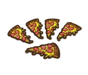 Термоаппликации арт.KT #4-41 Пицца 61х36мм уп.5 шт