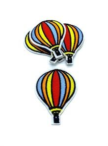 Термоаппликации арт.KT #4-108 Воздушный шар 40х55мм уп.5 шт