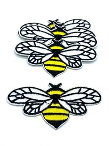 Термоаппликации арт.KT #4-7 Пчела 91х47мм уп.5 шт