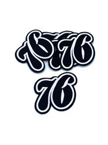 Термоаппликации арт.KT #4-104 57х70мм уп.5 шт