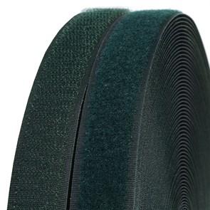 Лента липучка TBY пришивная кач.B шир.25мм цв.F273 зеленый уп.25м (пара)