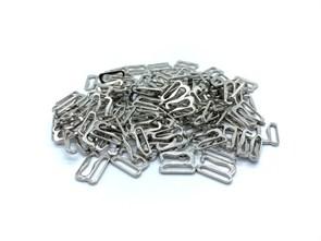 Крючок для бюстгальтера металл d10мм арт.KRDB-10 цв.серебро уп.100шт (+-5шт)