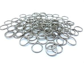 Кольцо для бюстгальтера металл d10мм арт.KLDB-10 цв.серебро уп.100шт (+-5шт)