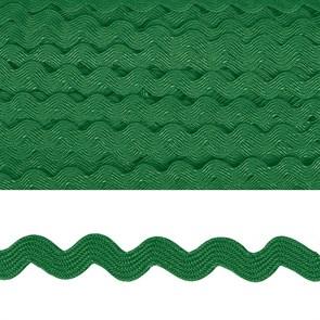 "Тесьма декоративная ""Вьюнчик"" арт.TBY.64312 шир.5мм цв.F243 зеленый уп.32,92м"
